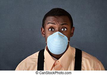 外科 マスク, 若者