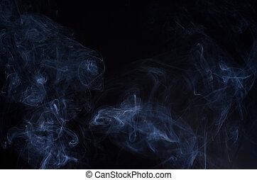 多く, 黒煙