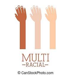 多人種である, デザイン
