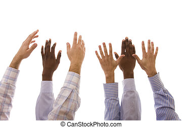 多人種である, 手