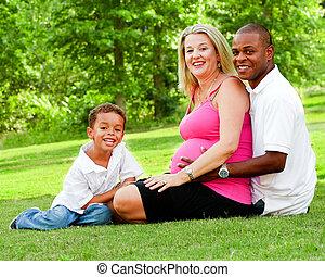 多人種である, 肖像画, 家族
