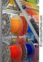 多彩, 機械, 織物, 冒険談