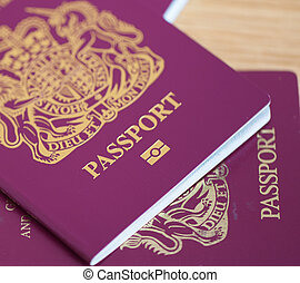 多数, イギリス, パスポート