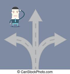 多数, ビジネス, 方法, 選択