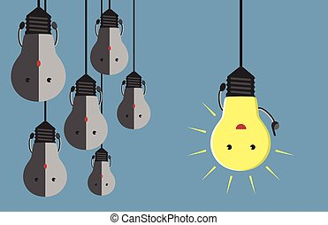 多数, ライト, 特徴, 電球