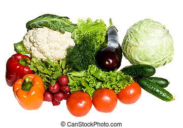 多数, 野菜