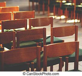 多数, 閉じられた, ∥あるいは∥, ミーティング, 椅子, -, セミナー, 概念, 部屋