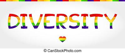多様性, 単語