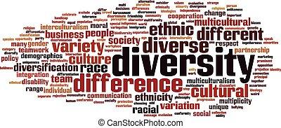 多様性, 単語, 雲