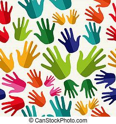 多様性, pattern., seamless, 人間の術中