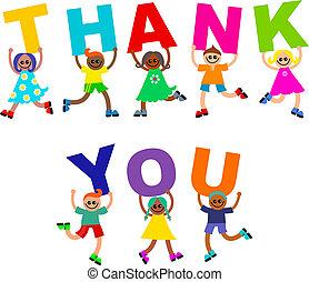 多様, 感謝しなさい, 子供, 幸せ, テキスト, あなた
