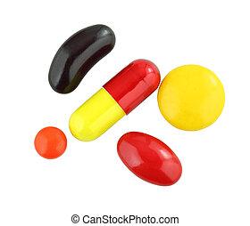 多樣混合, 藥丸, 集合