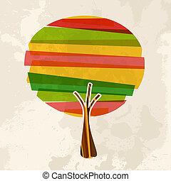 多色刷り, 木, 単一