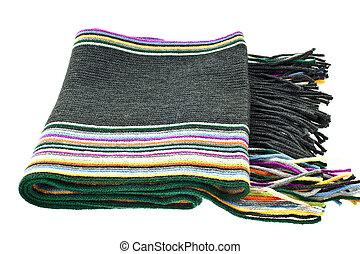 多色刷り, 羊毛, しまのある, スカーフ