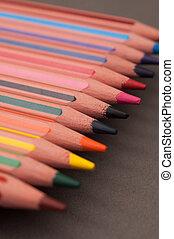 多色刷り, pencils., コラージュ