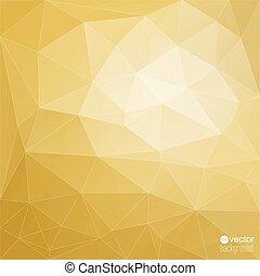 多角形, 抽象的, mesh., ベクトル, 背景, 三角形
