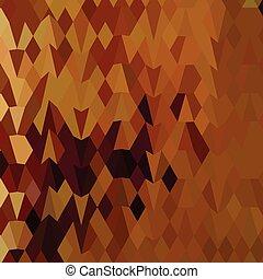 多角形, 葉, 秋, 低い, 背景, 抽象的