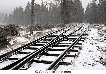 多雪, 路軌