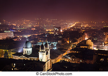 夜晚, lviv