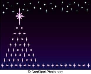 夜間, クリスマス, 背景