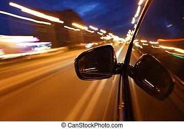夜, ドライブしなさい