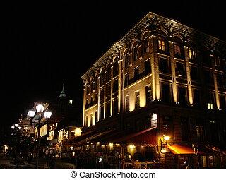 夜, モントリオール