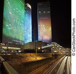 夜, 都市, tel aviv