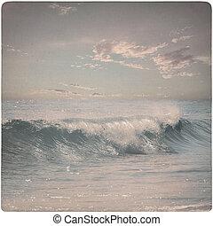 夢のようである, 型, 背景, 波