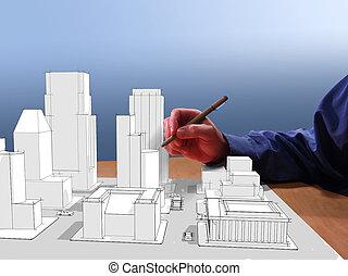 夢, 建築家