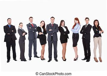 大きいグループ, ビジネス 人々