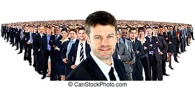 大きいグループ, businesspeople