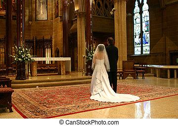 大きい日, 結婚式