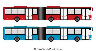 大きい都市, バス