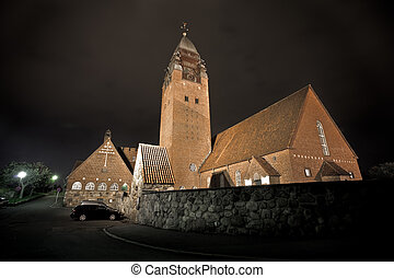 大きい, スウェーデン, 教会, gothenburg