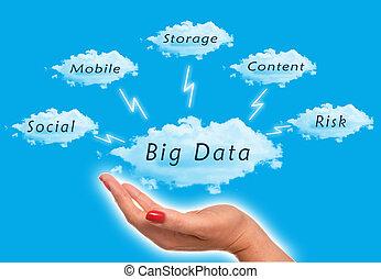 大きい, データ