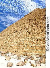 大きい ピラミッド, エジプト人
