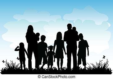 大きい, プロフィール, 家族