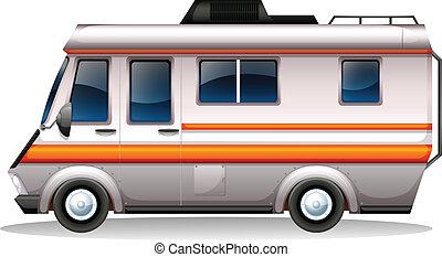 大きい, 交通機関, バス