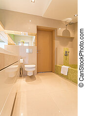 大きい, 住宅, 浴室, 贅沢