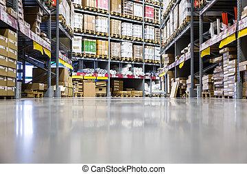 大きい, 倉庫, 家具