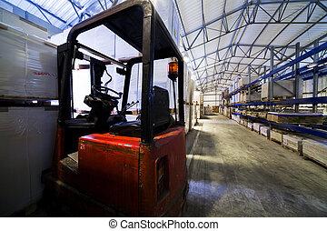 大きい, 倉庫, 現代