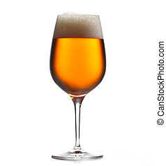 大きい, 冷えた, ビール, ゴブレット