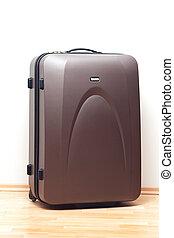 大きい, 旅行, ブラウン, スーツケース