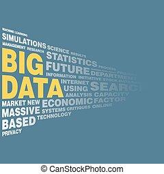 大きい, 概念, データ, 単語, タグ