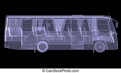 大きい, bus., x 線