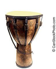 大きい, djemba, ドラム