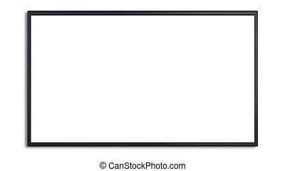 大きい, led 表示, ∥で∥, 白いスクリーン