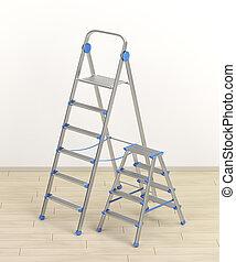 大きさ, はしご, 別