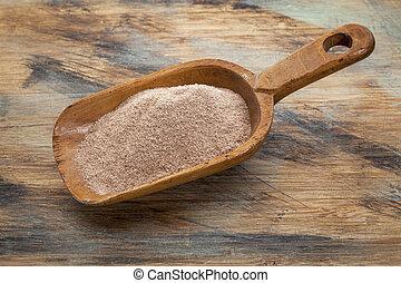 大さじ, teff, 小麦粉