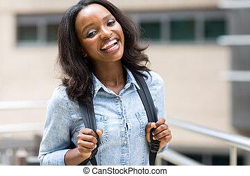 大学 キァンパス, 学生, アフリカ